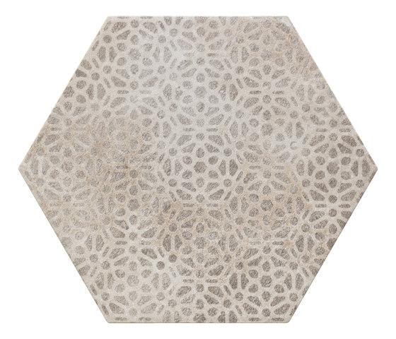 Bibulca   Esagona Orient 21x18 cm von IMSO Ceramiche   Keramik Fliesen