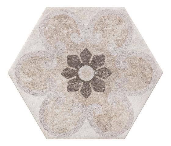 Bibulca | Esagona Classic 21x18 cm de IMSO Ceramiche | Carrelage céramique