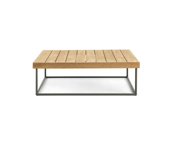 Allaperto Mountain Rectangular coffee table by Ethimo | Coffee tables