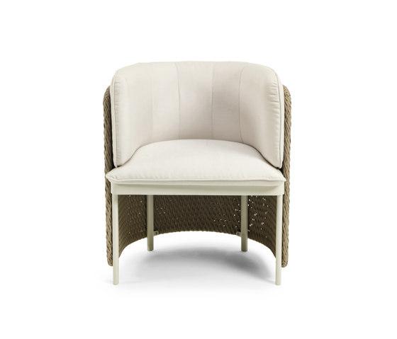 Esedra Dining armchair de Ethimo | Sillas