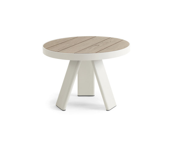 Esedra Round coffee table de Ethimo | Mesas auxiliares