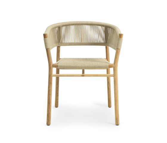 Kilt Dining armchair by Ethimo | Chairs