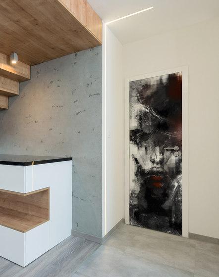 Doorpaper | Kiss di INSTABILELAB | Quadri / Murales