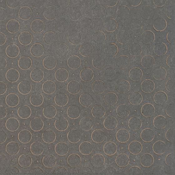 Karman Ceramica Decorata Antracite by EMILGROUP | Ceramic tiles