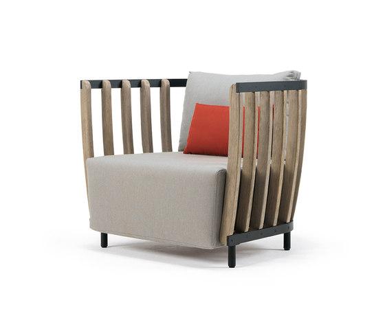 Swing Lounge armchair di Ethimo   Poltrone