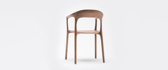 Elle Chair with Armrest by MS&WOOD | Chairs