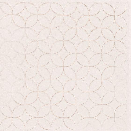 Karman Ceramica Decorata Singolo Floreale Avorio de EMILGROUP   Carrelage céramique