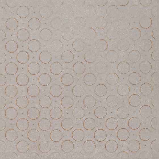 Karman Ceramica Decorata Singolo Geometrico Cenere by EMILGROUP   Ceramic tiles