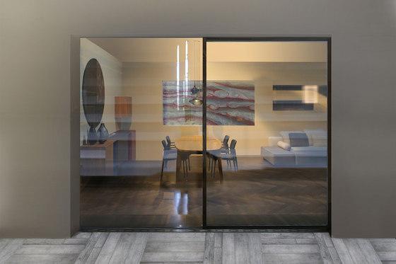 Ghost Wood minimal sliding door de ISAM   Portes-fenêtres