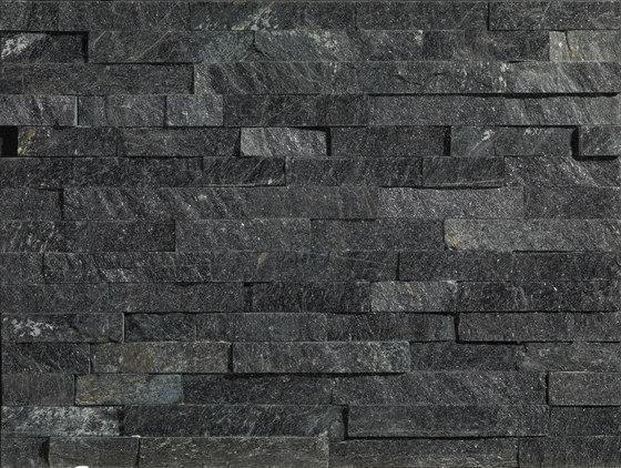 Pietre Da Rivestimento | Tramezzo Dark 15x60 cm by IMSO Ceramiche | Natural stone panels