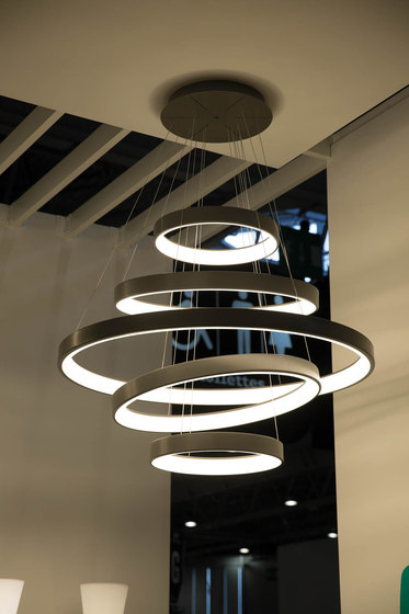 Lunaop by martinelli luce | Suspended lights
