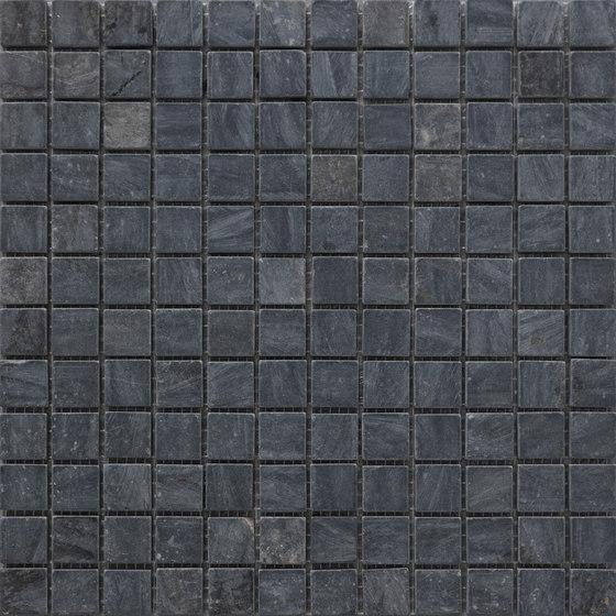Sassi | Nero Mosaico 30x30 cm by IMSO Ceramiche | Natural stone mosaics