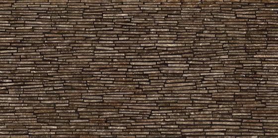 Tele di Marmo Frappuccino Pollock - battuto di listelli by EMILGROUP | Ceramic tiles