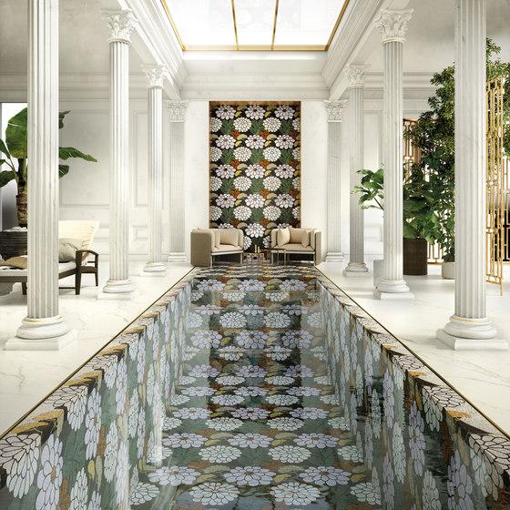 Royal Waves   Daisy Decor 15x15 de Mosaico+   Mosaïques verre