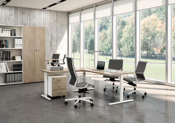 Idea+ Tube by Quadrifoglio Group | Desks