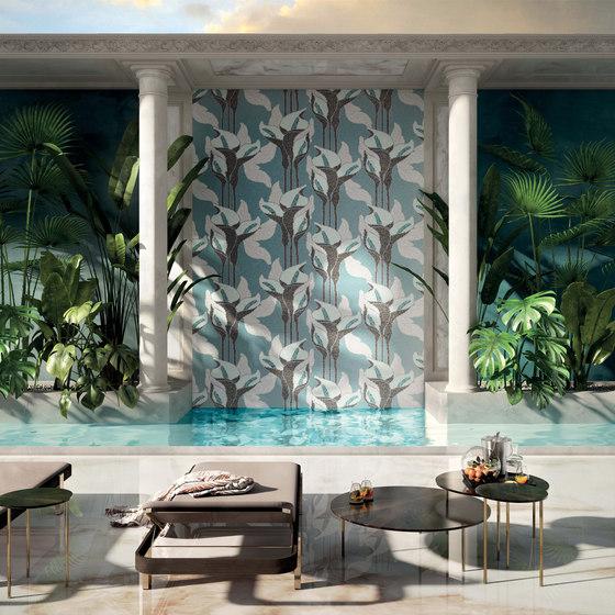 Royal Waves   Parfait Decor 10x10 von Mosaico+   Glas Mosaike