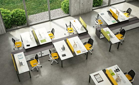X4 de Quadrifoglio Group | Cloisons pour table