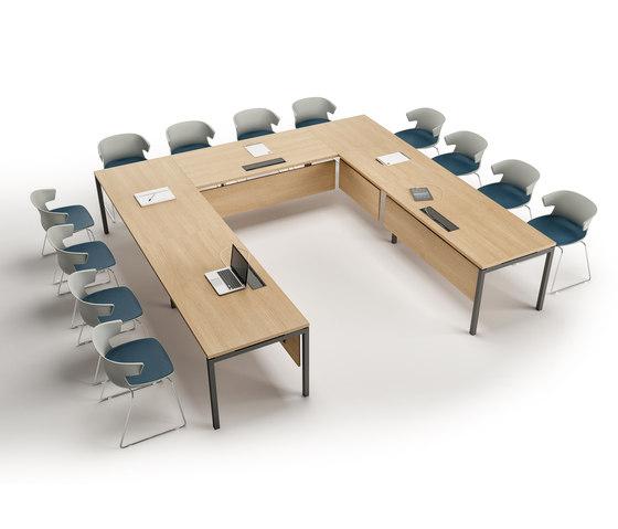 Idea+ di Quadrifoglio Group   Tavoli contract