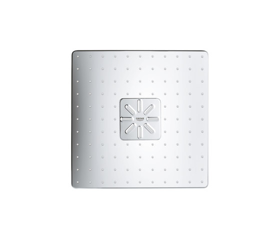 Rainshower 310 SmartActive Cube Head shower set 430 mm, 2 sprays by GROHE | Shower controls