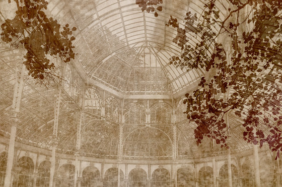A Room With A View Jardin des Plantes by GLAMORA | Bespoke wall coverings