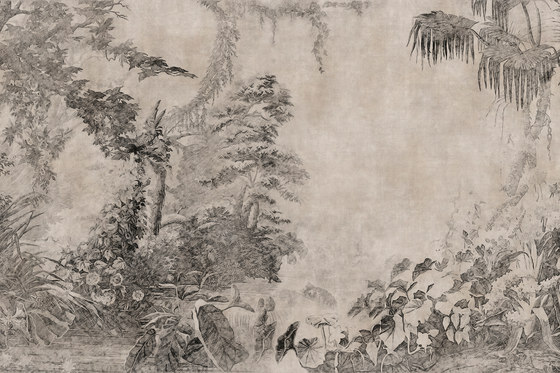 A Room With A View Saigon Garden by GLAMORA | Bespoke wall coverings