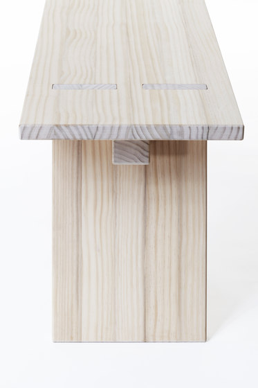 Puzzle bench 1800 by Shaping Objects Scandinavia | Benches