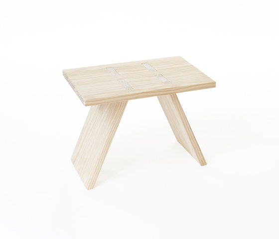 Puzzle stool | small table 600 by Shaping Objects Scandinavia | Side tables
