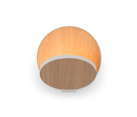 Gravy LED Wall Sconce - White Oak by Koncept | Wall lights