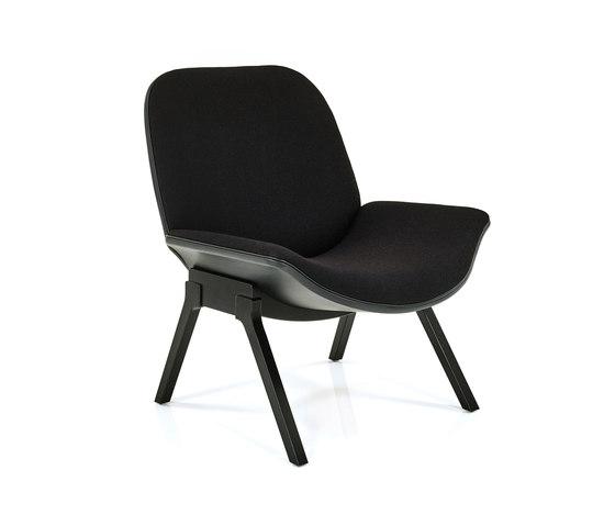 Melange Loungechair di Wittmann | Poltrone