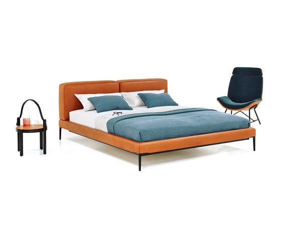 Joyce Cushion Bed di Wittmann   Letti