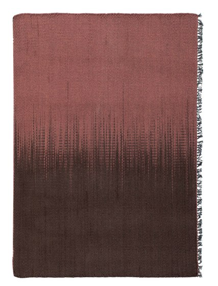 Mustache GA—02 Terracotta brown by Kristalia | Outdoor rugs