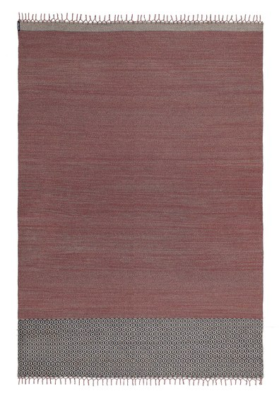 Mustache SA—03 Terracotta brown by Kristalia | Outdoor rugs