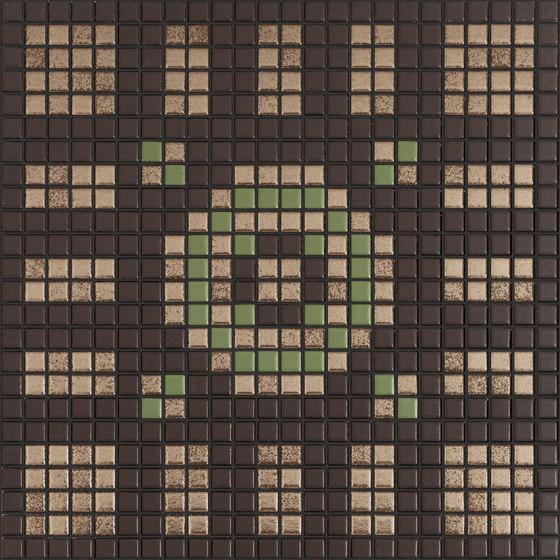 Memoria Luce MEMOC04 beige braun de Appiani | Mosaicos de cerámica