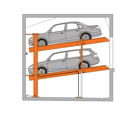 MultiBase 2078i by KLAUS Multiparking   Mechanic parking systems