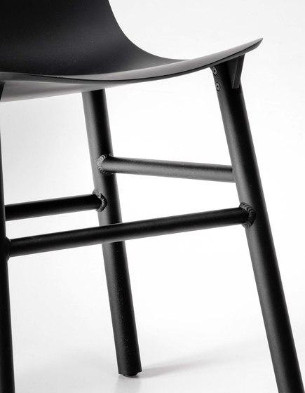 Sharky Alu stool by Kristalia   Bar stools