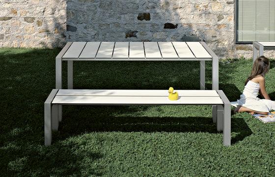 Sushi bench& table de Kristalia   Mesas y bancos