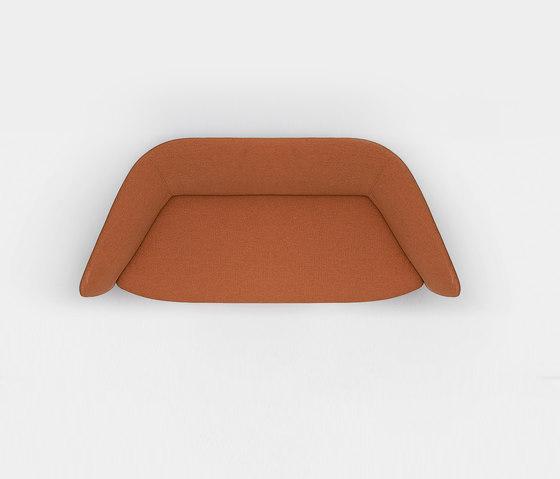 Tuile 2-seat sofa de Kristalia | Sofás