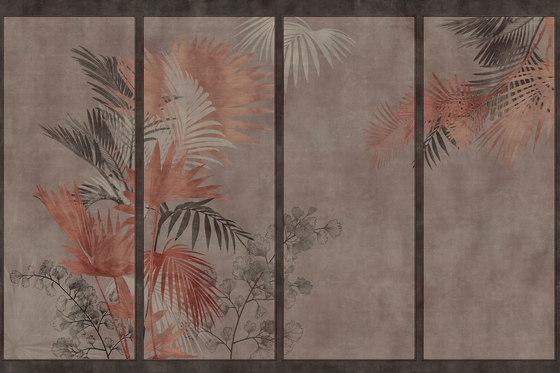 Boiserie Madama Butterfly by GLAMORA | Bespoke wall coverings