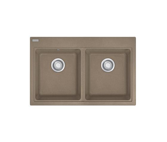 Maris Sink MRG 620 Fragranite Oyster by Franke Kitchen Systems | Kitchen sinks