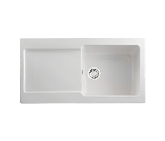 Maris Sink MRK 611-100 Fraceram White by Franke Kitchen Systems | Kitchen sinks