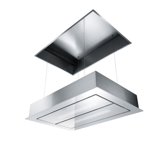 Maris Up and Down Hood FCUD 904 C WH RF UD Stainless Steel-Glass White by Franke Kitchen Systems | Kitchen hoods