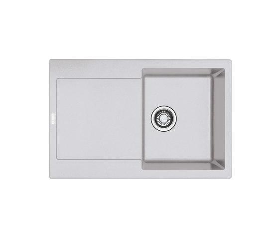 Maris Sink MRG 611-78 Fragranite Aluminum by Franke Kitchen Systems | Kitchen sinks