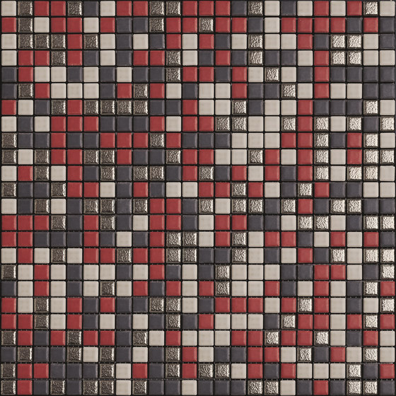 Minimal Mix Colour XNBG402 rot de Appiani | Mosaïques céramique