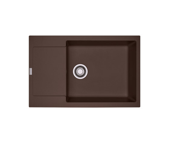 Maris Sink MRG 611-78/49 Fragranite Dark Brown by Franke Kitchen Systems | Kitchen sinks