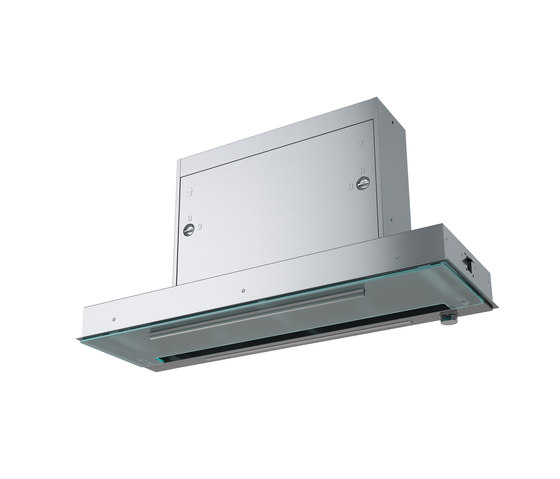 Maris Hood FMPOS 908 BI X Stainless Steel-Glass by Franke Kitchen Systems | Kitchen hoods