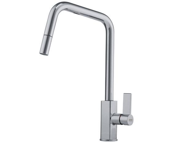 Maris Tap Pull Down U Version Nickel Optics de Franke Kitchen Systems | Griferías de cocina