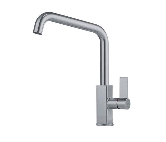 Maris Tap Swivel Spout U Version Nickel Optics by Franke Home Solutions | Kitchen taps