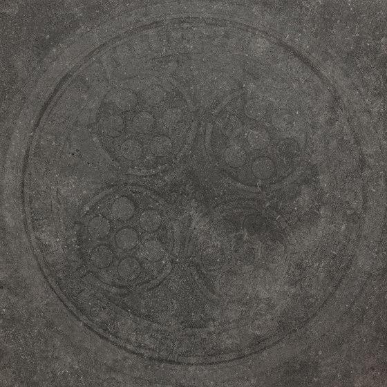 Italghisa | Impronte Antracite 60x60 cm di IMSO Ceramiche | Piastrelle ceramica