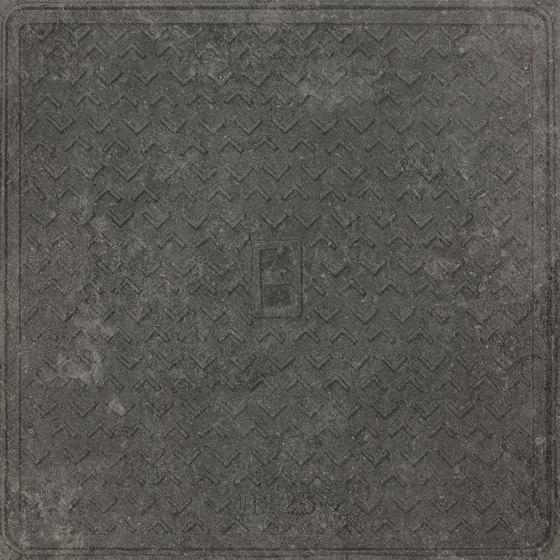 Italghisa   Impronte Antracite 60x60 cm by IMSO Ceramiche   Ceramic tiles