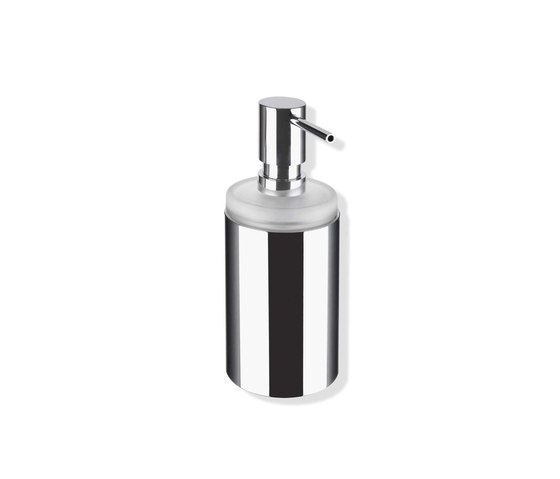Soap dispenser with holder | 162.06.110540 by HEWI | Soap dispensers